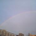 あっ、虹!!