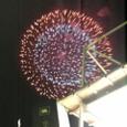 いすゞ納涼祭の花火