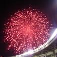 マリンスタジアムの花火