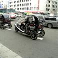 タクシー自転車
