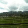 仙台に向かう新幹線からの風景