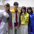 左から)キーチャン、藤田タクミサン、田中真子サン、里奈