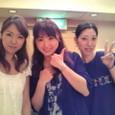 左から)澄谷薫ちゃん、里奈、松岡はづきちゃん