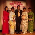 左)松川未樹さん、大沢桃子さん、山野楽器の渡部さん、竹川美子さん、桜井くみ子さん