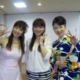 左)瀬口侑希さん、私、真木ことみさん