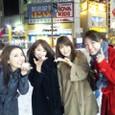 左)水田竜子さん、小村美貴さん、市川由紀乃さん、私