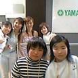 左から、中村直美さん、里奈、星祥子さん、冨田裕梨さん