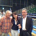 右から 佐々木勝彦さん、児玉さん