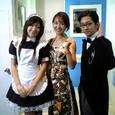 左、後藤裕美チャン。右、鳥海雄一さん。